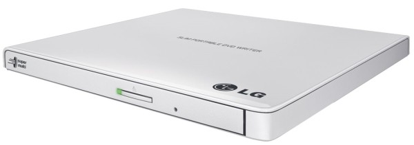 LG GP57EB40 - DVD-Brenner weiss - Laufwerk - DVD±RW (±R DL) / DVD-RAM - 8x/6x/5x - USB 2.0 extern