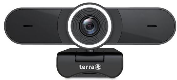 TERRA Webcam Pro 4K 3864 x 2228 Pixel inkl. Kameraabdeckung, Schwarz