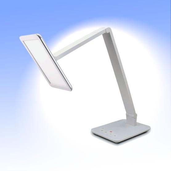 FeinTech LED Schreibtischlampe, LTL00100, dimmbar, 16 Lichtfarben