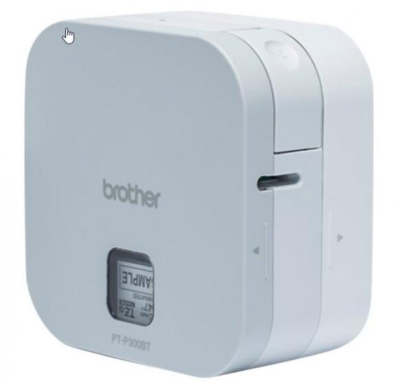 Brother P-Touch PT-P300BT - Etikettendrucker - Thermotransfer - Rolle (1,2 cm) - 180 dpi - bis zu 20