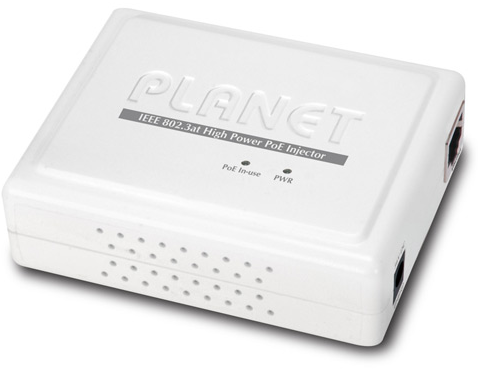 PLANET IEEE 802.3at High Power over Ethernet POE Injaector POE-161