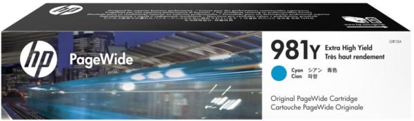 Orig. Tintenpatrone HP L0R09A Nr. 981X cyan/blau ca. 10.000 Seiten