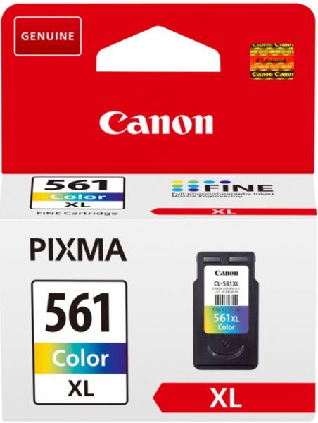 orig. Tintenpatrone Canon CL-561XL Color/Farbe für ca. 300 Seiten