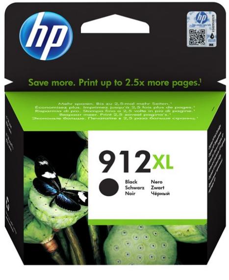 Orig. Tintenpatrone HP 3YL84AE Nr. 912XL black/schwarz,