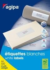 agipa Adress-Etiketten, 70x50,8 mm, weiß