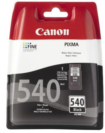 orig. Tintenpatrone Canon PG-540 Black/Schwarz ca 180 Seiten