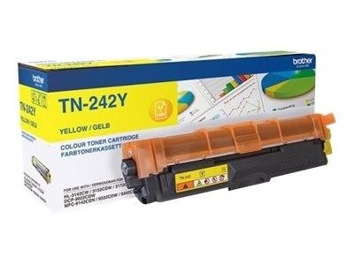 orig. Brother Toner TN-242Y Yellow/Gelb, ca. 1.400 Seiten
