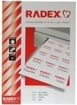 Radex Etiketten, 105 x 148 mm, E105148B blau