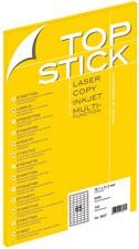 TOP STICK Universal-Etiketten, 210 x 148 mm, weiß