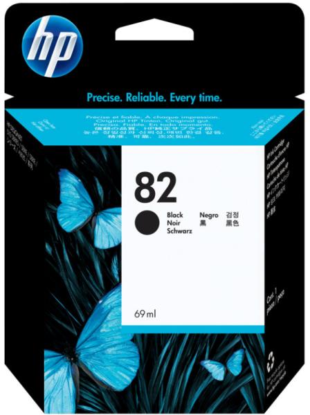 Orig. Tintenpatrone HP CH565A Nr. 82 black/schwarz