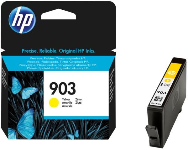 orig. Tintenpatrone HP 903 T6L95AE, yellow/gelb, ca. 315 Seiten