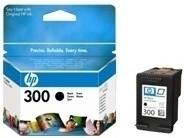 orig. Tintenpatrone HP CC640EE/Nr. 300, black/Schwarz, ca. 200 Seiten