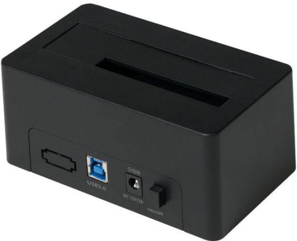 "LogiLink USB 3.0 HDDocking Station, für 2,5""/3,5""SATA HDD/SSD Schwarz"