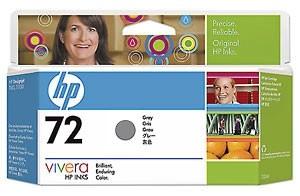 Orig. HP Tintenpatrone C9374AE Nr.72 Grau