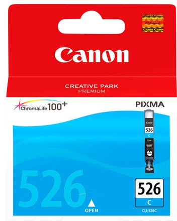 orig. CANON CLI-526C Tinte cyan für Pixma