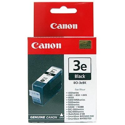 orig. Canon Tintenpatrone BCI-3E BK black/Schwarz