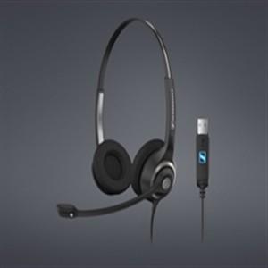 Sennheiser SC-260 USB Headset Schwarz/Silber