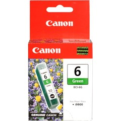 orig. Canon Tintenpatrone BCI-6 G Green/Grün