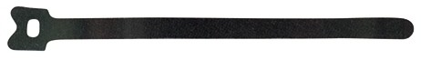 Velcro Klett-Klebebinder One-Wrap Strap 20x150mm, Trommel mit 750 Stk. schwarz