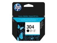 orig. HP Tintenpatrone N9K06AE Nr. 304 black/schwarz ca. 120 Seiten 4ml