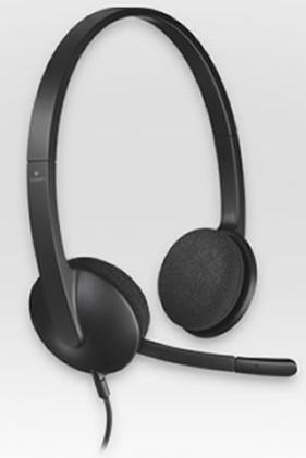 Logitech Headset Stereo USB H340