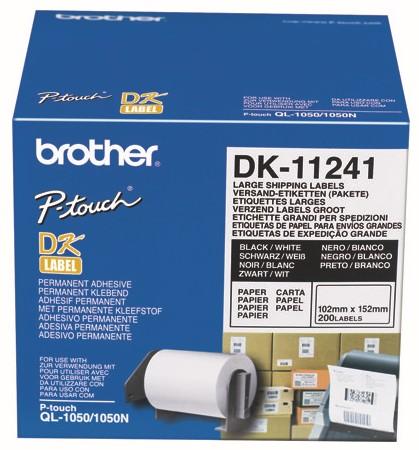 Brother Endlosetiketten Papier DK-112412 102 x 152 mm