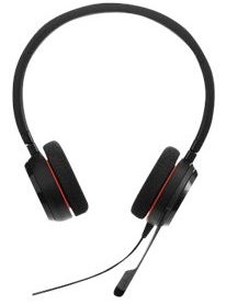 JABRA EVOLVE 20 UC Duo USB Headset