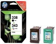 Orig. Tintenpatrone HP SD449EE Nr.338/343 black/color