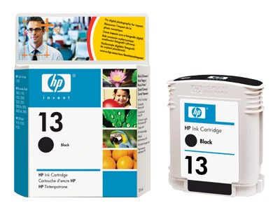 Orig. Tintenpatrone HP C4814a Nr.13 Black/Schwarz