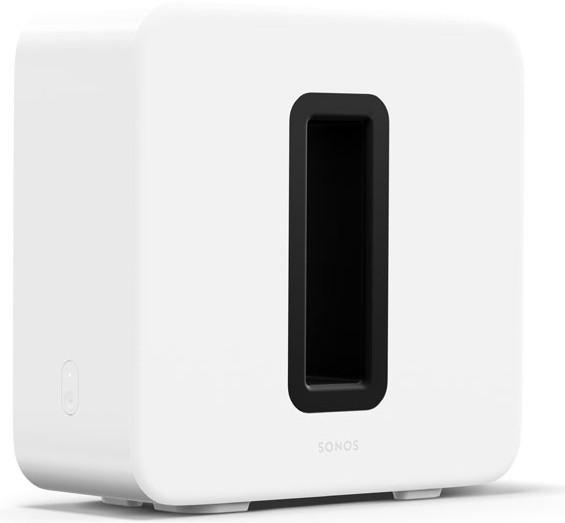 Sonos Sub, Glänzend Weiß III, Der Sub (3. Generation) verfügt über eine verbesserte integrierte T