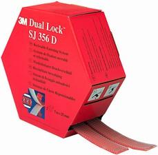 3M Dual Lock Flexibler Druckverschluss, Farbe: schwarzMaße: 25,4 mm x 5 m, Klebstoff: Synthese-Kau