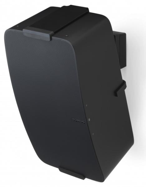 Flexson Wandhalterung für Sonos Play:5 II und SONOS Five schwarz vertikal