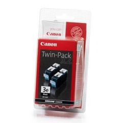 orig. Canon Tintenpatrone 2xBCI-3E BK black/Schwarz