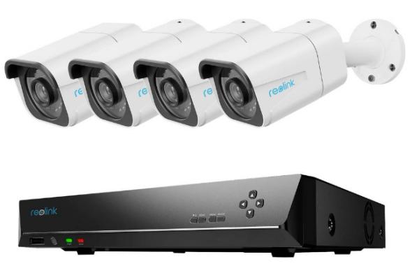 Reolink RLK8-810B4-A 4K Videoüberachung
