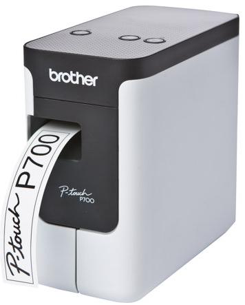 Brother P-Touch PT-P700 - Etikettendrucker - Thermal Transfer - Rolle (2,4 cm) - 180 dpi - bis zu