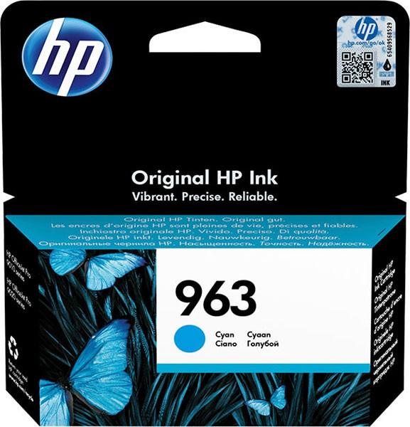 orig. Tintenpatrone HP 963 Cyan/Blau 3JA23AE