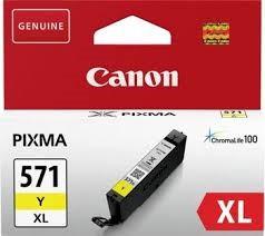 orig. Tintenpatrone Canon CLI-571XL Y yellow/gelb