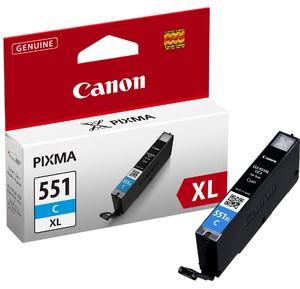 orig. CANON CLI-551XL C Tinte cyan/blau fuer Pixma MG 6350 ~670 Seiten