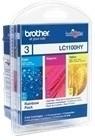 orig. Brother Tintenpatrone LC-1100RBWBPDR Rainbow Pack
