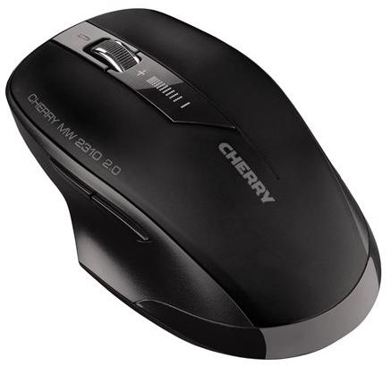 CHERRY MW 2310 2.0 Wireless Mouse - USB - Black