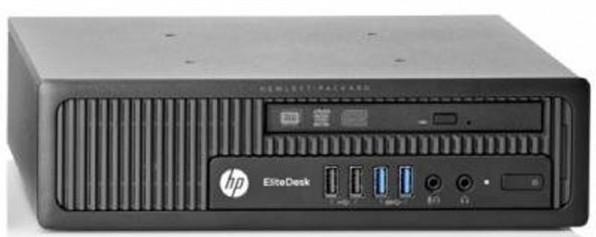 Geb. PC HP EliteDesk 800 G1 i5-4570S 8GB 256 GB SSD W10P