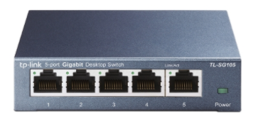 TP-Link TL-SG105 Switch 5xGbit, Unmanaged Schwarz
