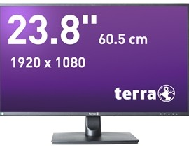 "TERRA LED 2456W 24"" schwarz DP, HDMI GREENLINE PLUS"