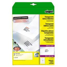 sigel Adress-Etiketten, 210 x 297 LA375
