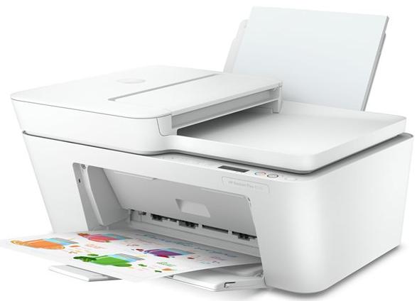 HP DeskJet Plus 4110 AiO Tintenstrahldrucker weiss Wlan 4in1