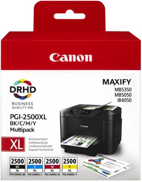 orig. CANON PGI-2500XL Multipack BK/C/M/Y