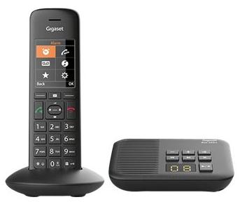 Gigaset · C570A Schnurlostelefon DECT Clip mit AB schwarz