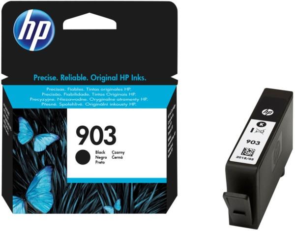 orig. Tintenpatrone HP 903 T6L99AE, black/schwarz, ca. 300 Seiten