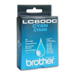 Orig. Tintenpatrone Brother LC-600C cyan