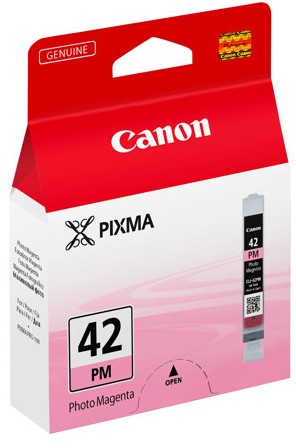 orig. Tintenpatrone CANON CLI-42PM Foto magenta, 37 Fotos